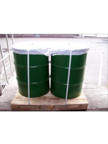 Strapping application image green barrels