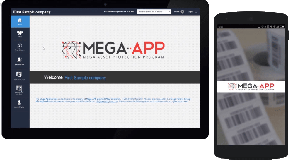 Mega-App tablet and phone
