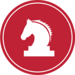 Horse chess piece icon